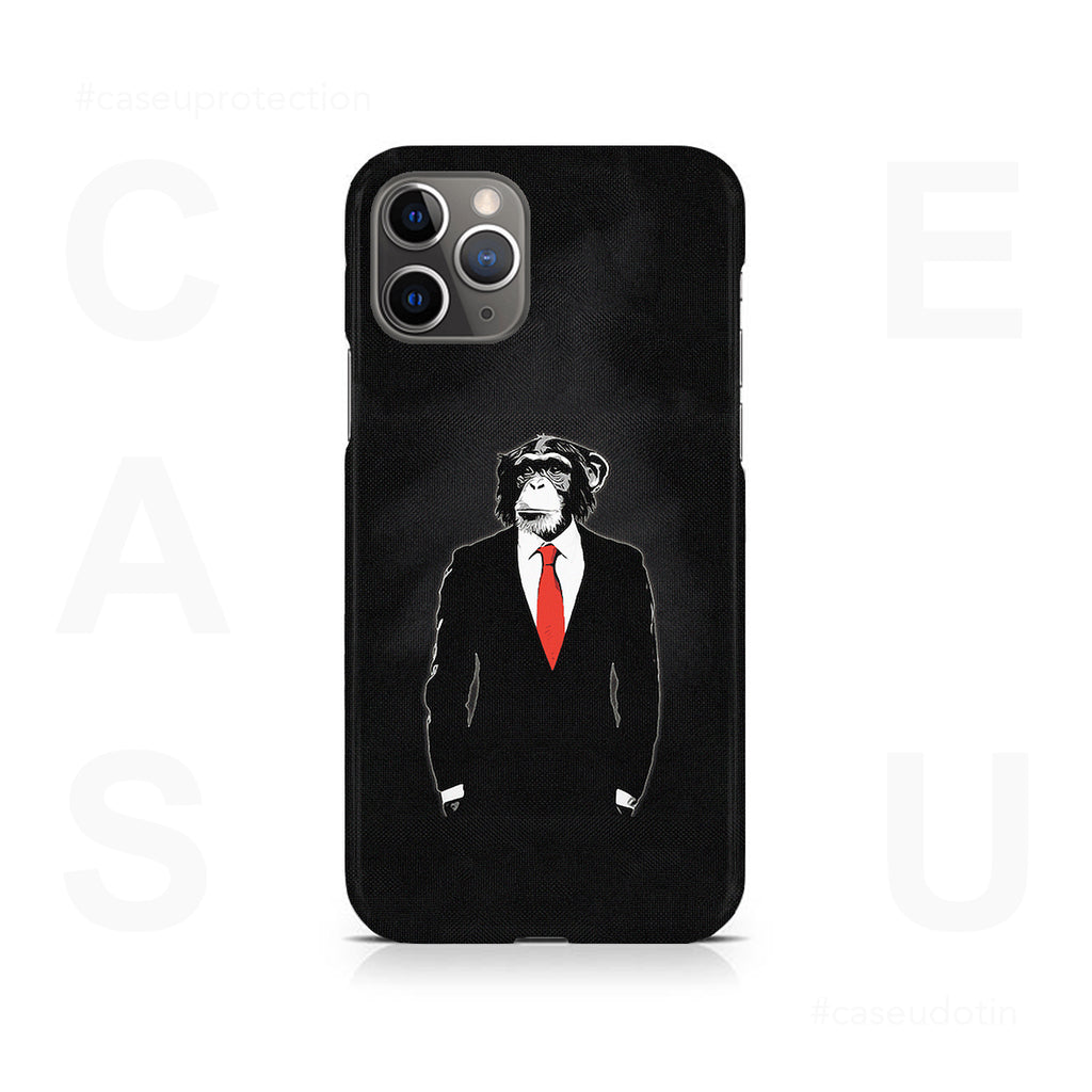 Domesticated Monkey Case Cover - iPhone 11 Pro