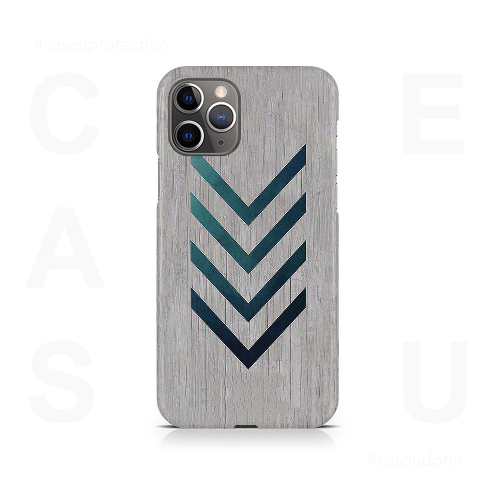 Blue Striped Arrow Case Cover - iPhone 11 Pro
