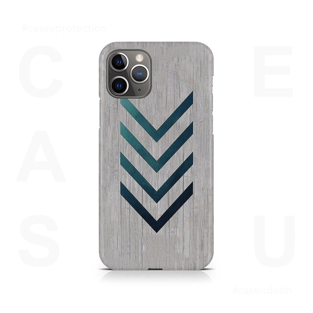 Blue Striped Arrow Case Cover - iPhone 11 Pro Max