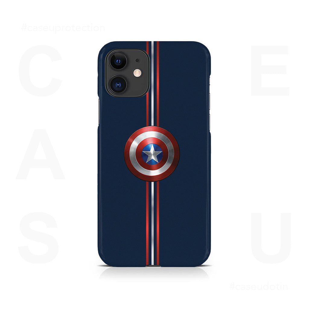Captain America Shield Case Cover - iPhone 11