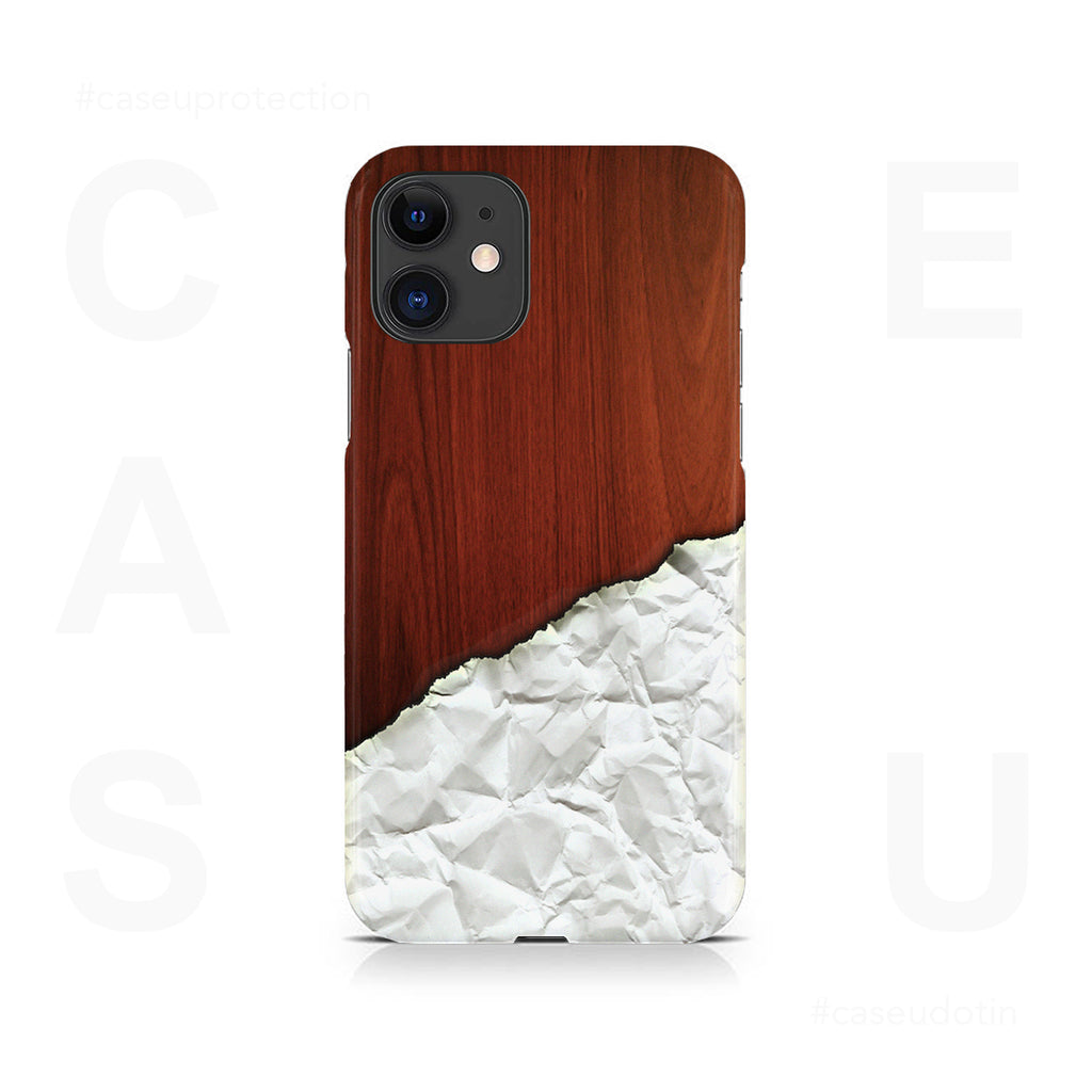 Crumbled Paper Artwork Case Cover - iPhone 11