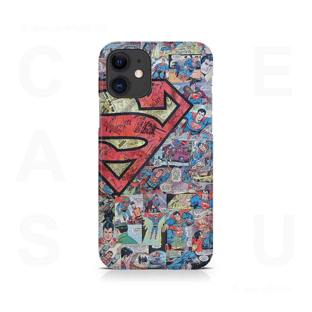 Superman Comic Case Cover - iPhone 11