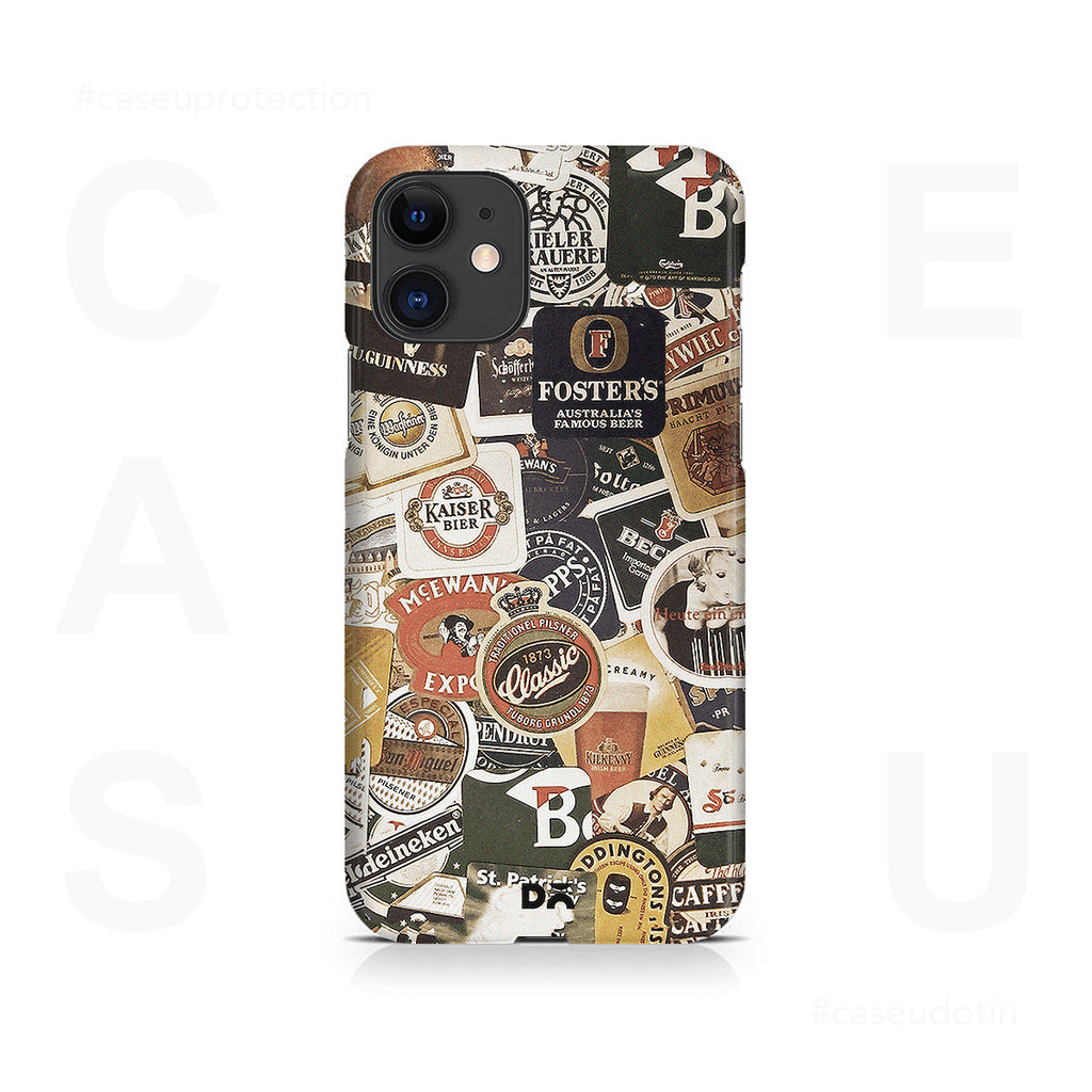 Beers Of The World Case Cover - iPhone 11