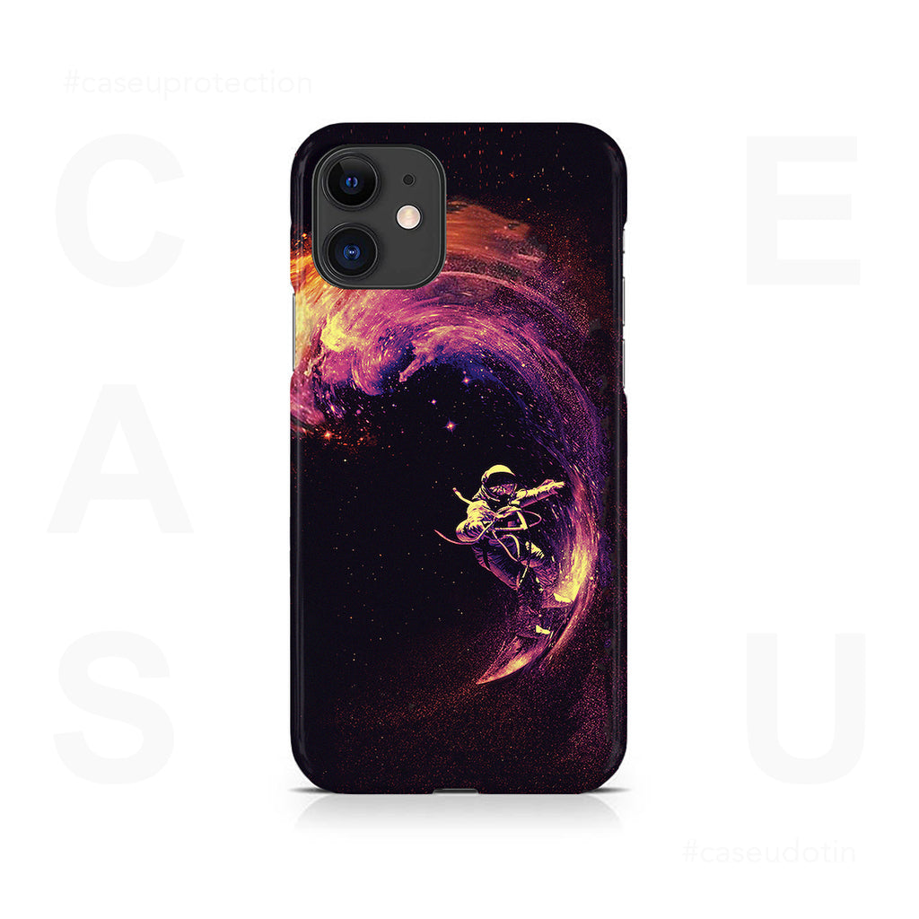 Space Surfing Case Cover - iPhone 11