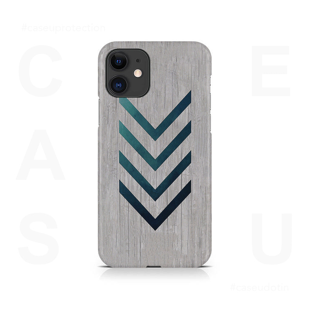 Blue Striped Arrow Case Cover - iPhone 11