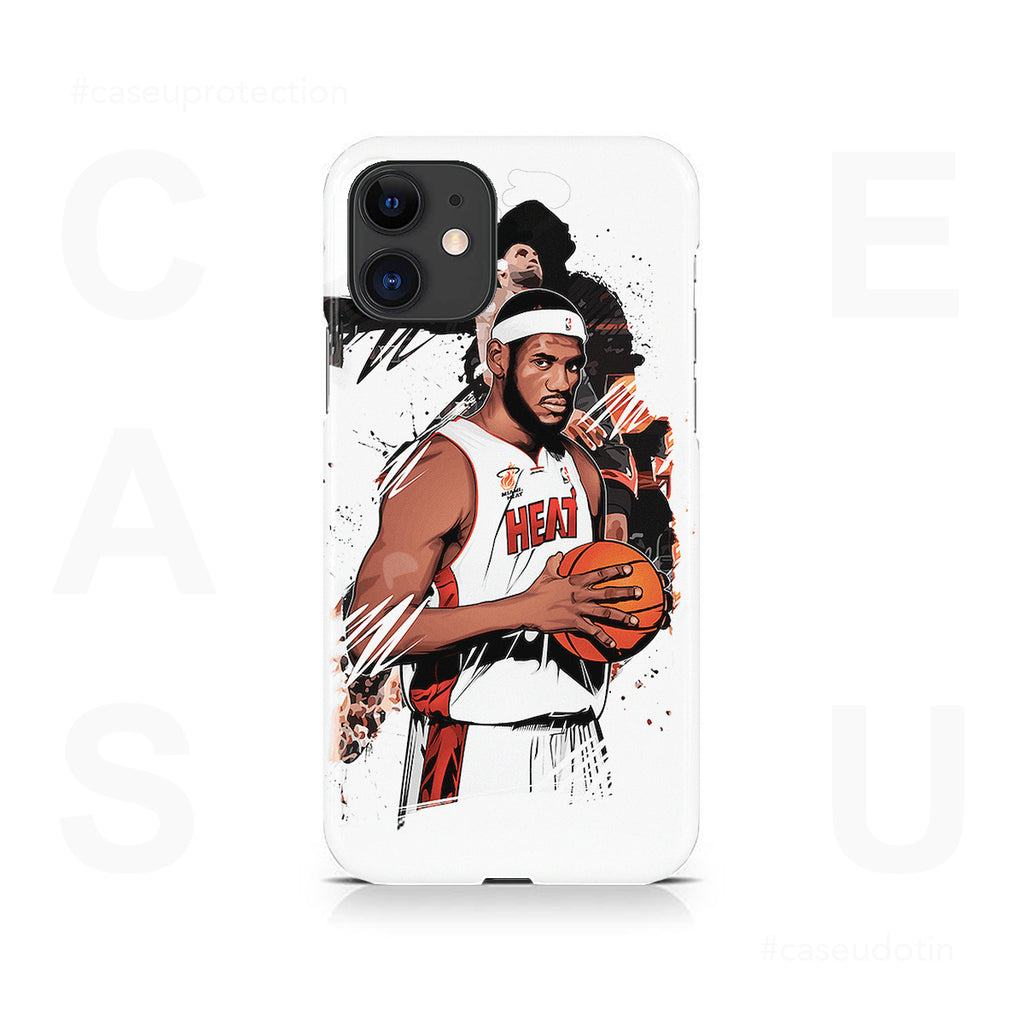 Lebron James Basketball Case Cover - iPhone 11