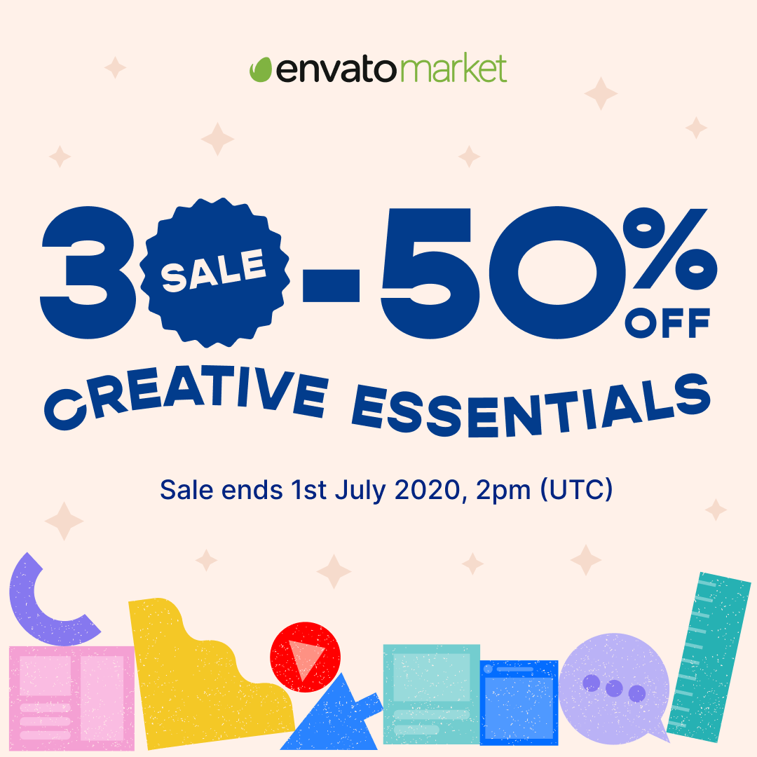 Envato Mid Year Sale 2020