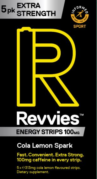Revvies Extra Strength Cola Lemon 100mg (10 x 5 Pk)