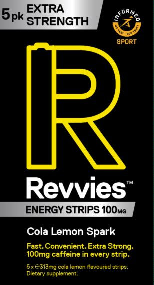 Revvies Extra Strength Cola Lemon 100mg (5 x 5 Pk)
