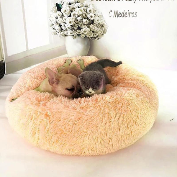 Comfy Calming Dog/Cat Bed For Dogs & Cats