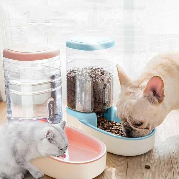 3.8L Pet Supplies Automatic Feeder Automatic Drinker