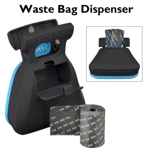 Dog Pet Travel Foldable Pooper Scooper With 1 Roll Decomposable bags