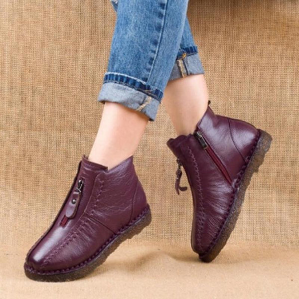 Winter Casual Warm Velvet Ankle Boots