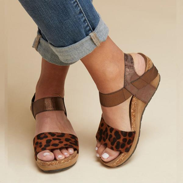 Women Summer Comfy Wedges Platform Sandals