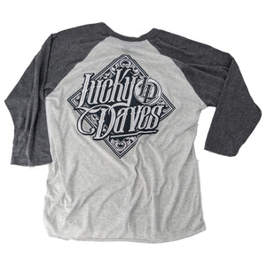 Lucky Daves Baseball Tee