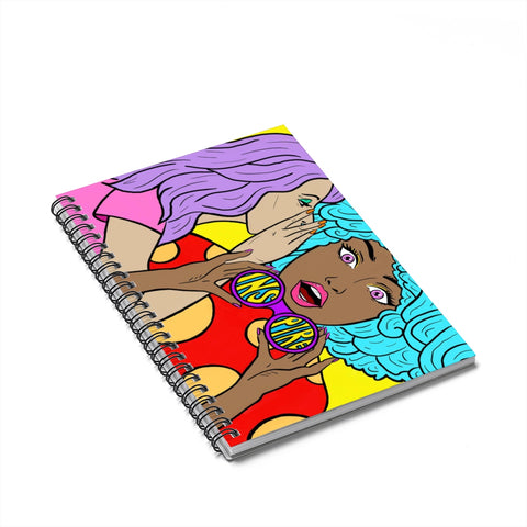 Spiral Notebook by Lucy Aaron