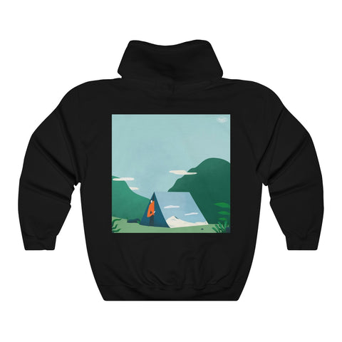 Unisex Hoodie (print on back) by Bryan Xandrix