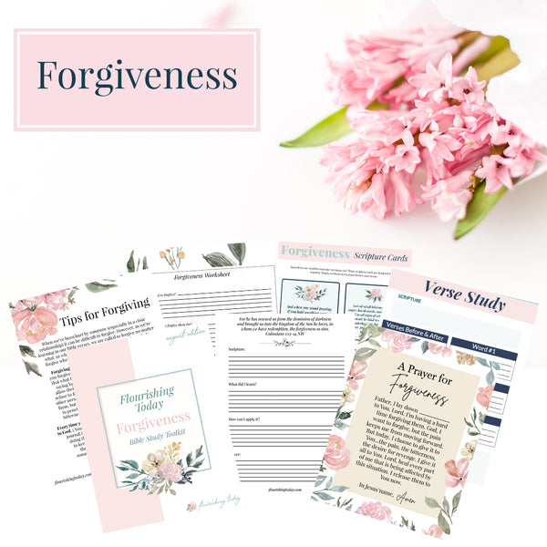 Forgiveness Bible Study Journal (Physical Copy)