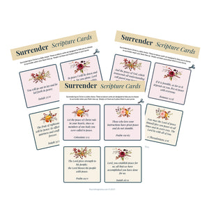 Peace Scripture Cards
