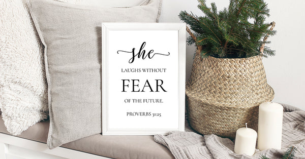 She laughs without FEAR Printable