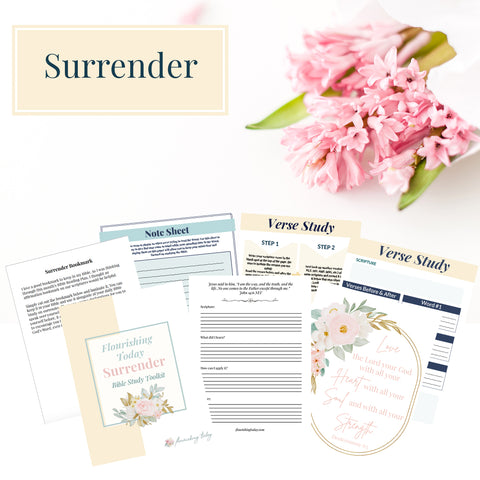 Surrender Bible Study Toolkit
