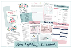 Fear Fighting Workbook Deal