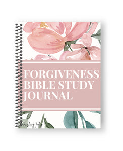 Forgiveness Bible Study Journal