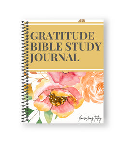 Gratitude Bible Study Journal