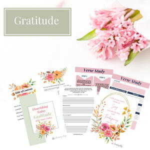 Gratitude Bible Study Toolkit