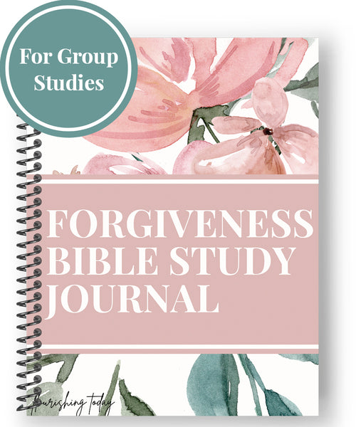 Forgiveness Bible Study Journal (for Large Group Use)