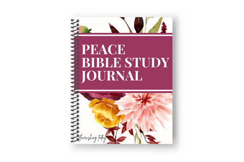 Peace Bible Study Journal Physical Copy