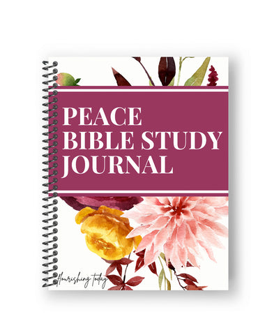 Peace Bible Study Journal