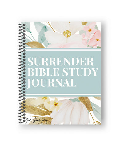 Surrender Bible Study Journal