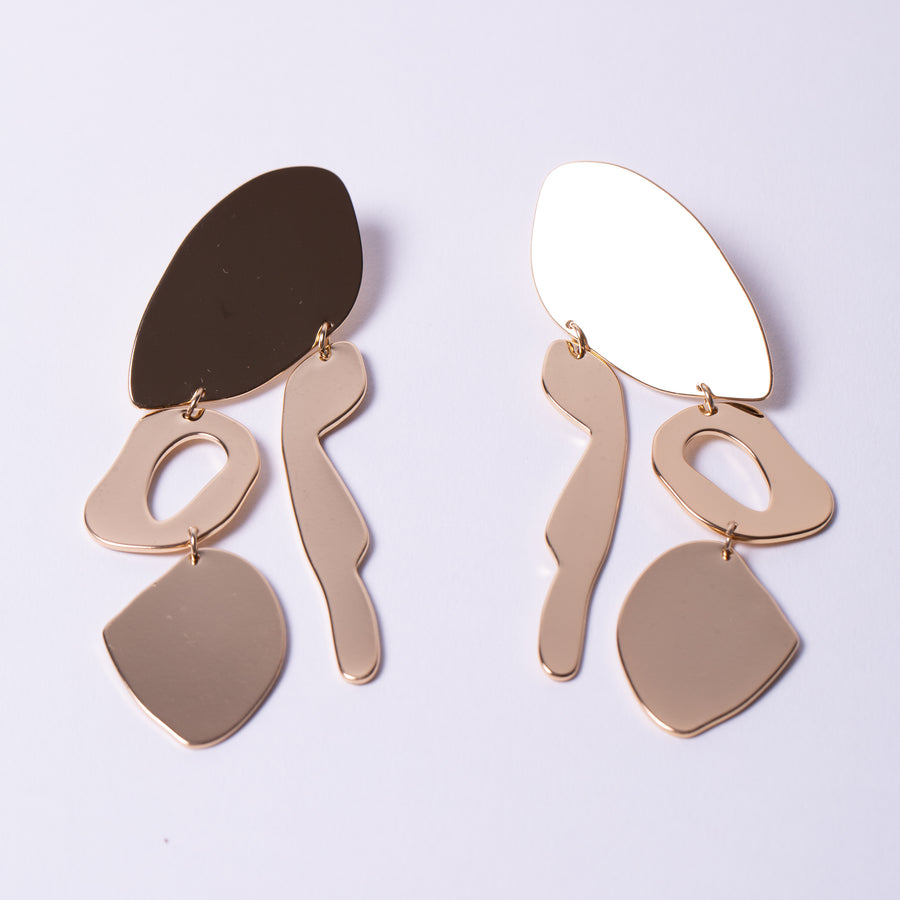 Organic Statement Earrings