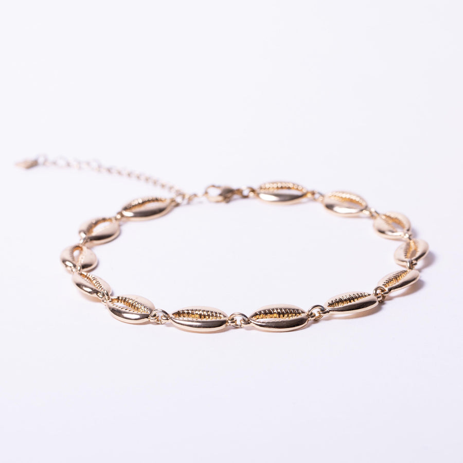 Metal Shell Choker Necklace