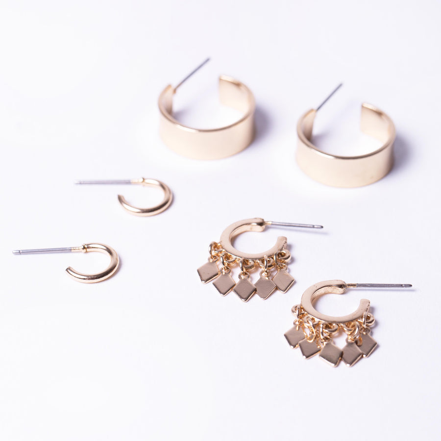 Mini Hoop Earring pack