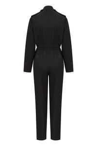 Safari Jumpsuit - Black