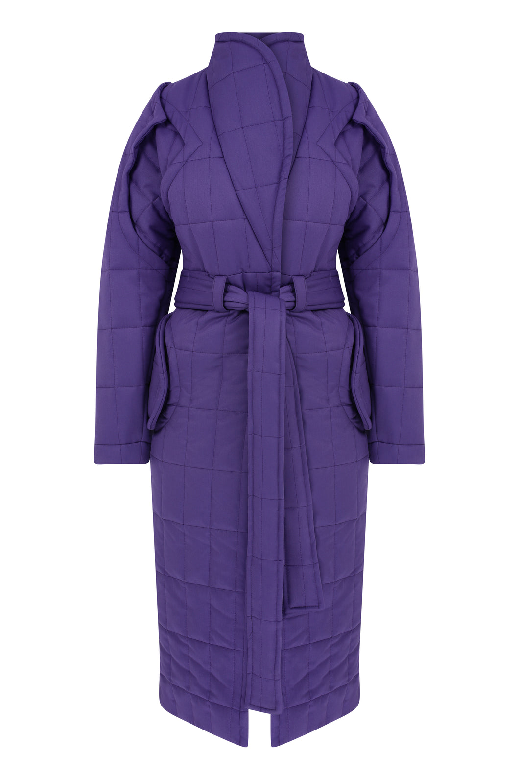 Curvy Me Puffer-Purple
