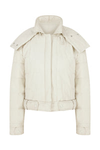 Mini Me Light Puffer - Offwhite