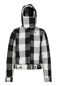 Mini Me Light Puffer - Black/White