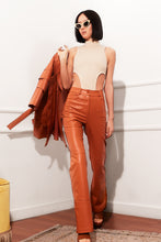 Load image into Gallery viewer, Power Pants- Orange Leather