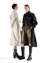 Load image into Gallery viewer, Gadget Trenchcoat - Black