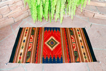 Load image into Gallery viewer, Handwoven Zapotec Rug - Campos Maguey Wool Oaxacan Textile
