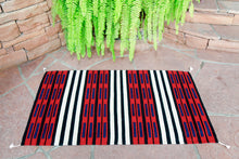 Load image into Gallery viewer, Handwoven Zapotec Rug - Chief Cintas Wool Oaxacan Textile