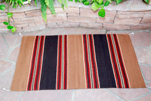 Load image into Gallery viewer, Handwoven Zapotec Rug - Cintas Espanola Wool Oaxacan Textile