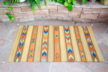 Load image into Gallery viewer, Handwoven Zapotec Rug - Cintas Juarez Wool Oaxacan Textile