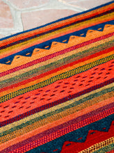 Load image into Gallery viewer, Handwoven Zapotec Indian Rug - Montanitas Philomena Wool Oaxacan Textile