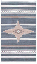 Load image into Gallery viewer, Handwoven Zapotec Indian Rug - Shining Star Wool oaxacan Textile