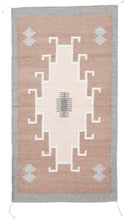 Load image into Gallery viewer, Handwoven Zapotec Rug - 1920s Lincoln Natural Wool Textile