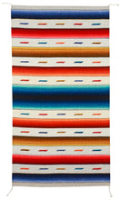 Load image into Gallery viewer, Handwoven Zapotec Rug - Arco Iris Lincoln Wool Textile